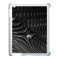 Fractal Mathematics Abstract Apple iPad 3/4 Case (White)