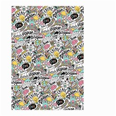 Communication Web Seamless Pattern Small Garden Flag (Two Sides)