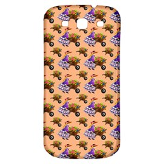Flowers Girl Barrow Wheel Barrow Samsung Galaxy S3 S III Classic Hardshell Back Case
