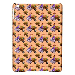 Flowers Girl Barrow Wheel Barrow iPad Air Hardshell Cases
