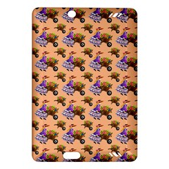 Flowers Girl Barrow Wheel Barrow Amazon Kindle Fire HD (2013) Hardshell Case