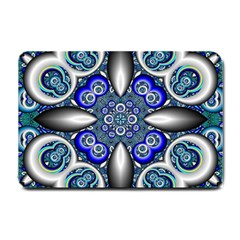 Fractal Cathedral Pattern Mosaic Small Doormat