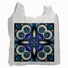 Fractal Cathedral Pattern Mosaic Recycle Bag (Two Side)