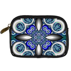 Fractal Cathedral Pattern Mosaic Digital Camera Cases