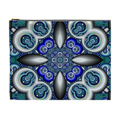 Fractal Cathedral Pattern Mosaic Cosmetic Bag (XL)