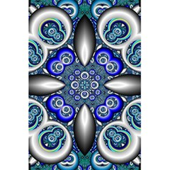 Fractal Cathedral Pattern Mosaic 5.5  x 8.5  Notebooks