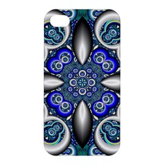 Fractal Cathedral Pattern Mosaic Apple iPhone 4/4S Premium Hardshell Case