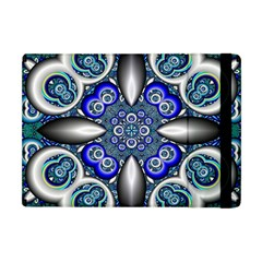 Fractal Cathedral Pattern Mosaic Apple iPad Mini Flip Case