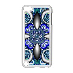 Fractal Cathedral Pattern Mosaic Apple iPod Touch 5 Case (White)