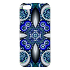 Fractal Cathedral Pattern Mosaic iPhone 5S/ SE Premium Hardshell Case