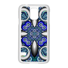 Fractal Cathedral Pattern Mosaic Samsung Galaxy S5 Case (White)