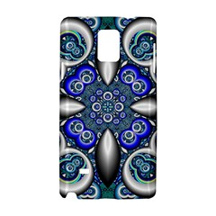 Fractal Cathedral Pattern Mosaic Samsung Galaxy Note 4 Hardshell Case