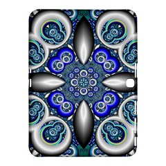Fractal Cathedral Pattern Mosaic Samsung Galaxy Tab 4 (10.1 ) Hardshell Case