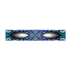 Fractal Cathedral Pattern Mosaic Flano Scarf (Mini)