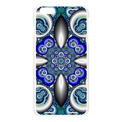 Fractal Cathedral Pattern Mosaic Apple Seamless iPhone 6 Plus/6S Plus Case (Transparent)