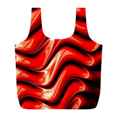 Fractal Mathematics Abstract Full Print Recycle Bags (L)