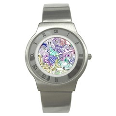 Zentangle Mix 1116a Stainless Steel Watch