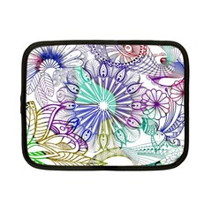 Zentangle Mix 1116a Netbook Case (Small)