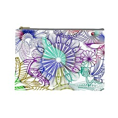 Zentangle Mix 1116a Cosmetic Bag (Large)