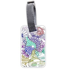 Zentangle Mix 1116a Luggage Tags (One Side)
