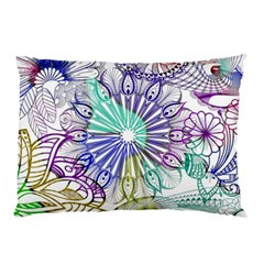 Zentangle Mix 1116a Pillow Case (Two Sides)