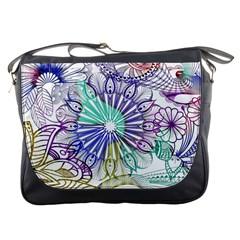 Zentangle Mix 1116a Messenger Bags