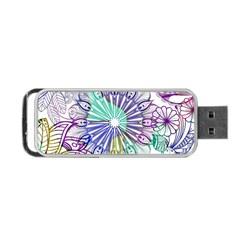 Zentangle Mix 1116a Portable USB Flash (One Side)