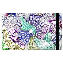 Zentangle Mix 1116a Apple iPad 2 Flip Case