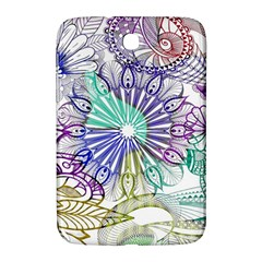 Zentangle Mix 1116a Samsung Galaxy Note 8.0 N5100 Hardshell Case