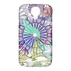 Zentangle Mix 1116a Samsung Galaxy S4 Classic Hardshell Case (PC+Silicone)