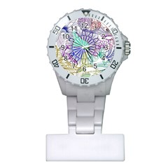 Zentangle Mix 1116a Plastic Nurses Watch