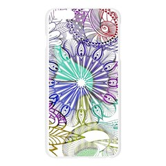 Zentangle Mix 1116a Apple Seamless iPhone 6 Plus/6S Plus Case (Transparent)