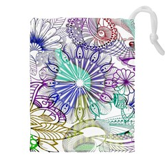 Zentangle Mix 1116a Drawstring Pouches (XXL)
