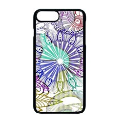 Zentangle Mix 1116a Apple Iphone 7 Plus Seamless Case (black)