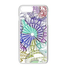Zentangle Mix 1116a Apple Iphone 7 Plus White Seamless Case