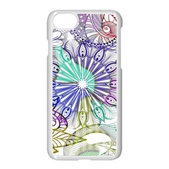 Zentangle Mix 1116a Apple Iphone 7 Seamless Case (white)