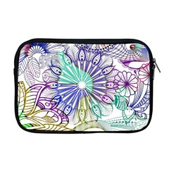 Zentangle Mix 1116a Apple Macbook Pro 17  Zipper Case