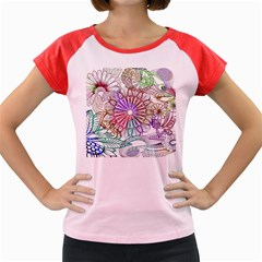 Zentangle Mix 1116b Women s Cap Sleeve T-Shirt