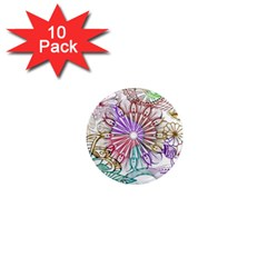 Zentangle Mix 1116b 1  Mini Magnet (10 pack)