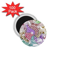 Zentangle Mix 1116b 1.75  Magnets (100 pack)