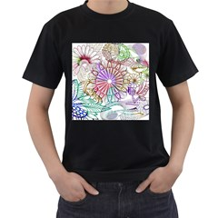 Zentangle Mix 1116b Men s T-Shirt (Black)