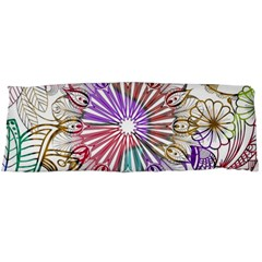 Zentangle Mix 1116b Body Pillow Case (Dakimakura)