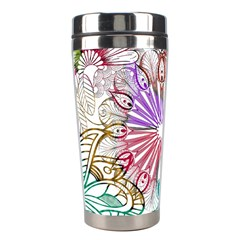 Zentangle Mix 1116b Stainless Steel Travel Tumblers