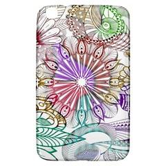 Zentangle Mix 1116b Samsung Galaxy Tab 3 (8 ) T3100 Hardshell Case