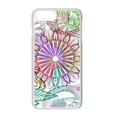 Zentangle Mix 1116b Apple Iphone 7 Plus White Seamless Case