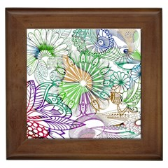 Zentangle Mix 1116c Framed Tiles