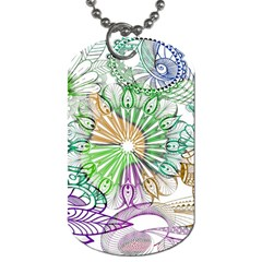 Zentangle Mix 1116c Dog Tag (Two Sides)