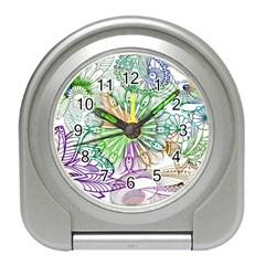 Zentangle Mix 1116c Travel Alarm Clocks