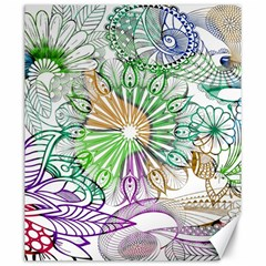 Zentangle Mix 1116c Canvas 20  x 24