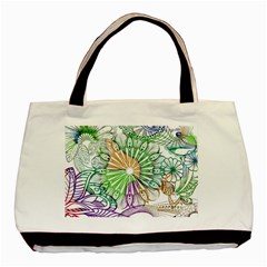 Zentangle Mix 1116c Basic Tote Bag (Two Sides)